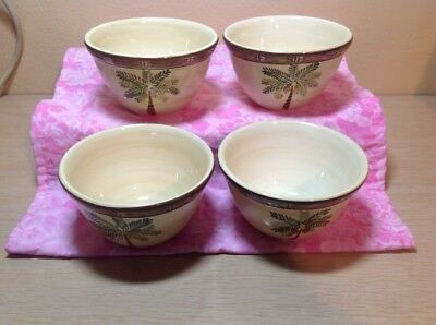 $17.99 • Buy Set Of 4 Home Trends West Palm Coup Cereal Bowls 5-5/8