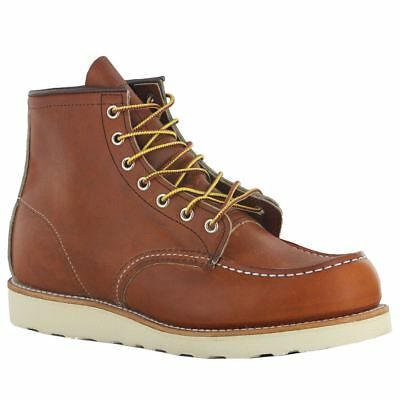 Red Wing Moc Lug 875 Brown Mens Boots • 245.72£