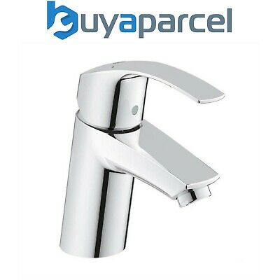 Grohe 3246720L Eurosmart Mono Single Lever Basin Mixer Tap Smooth Body 1/2 Inch • 55.95£