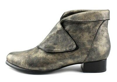 $94.99 • Buy Everybody By Bz Moda Shoes Faith Metallic Booties Ankle Boots Sigaro New  39.5