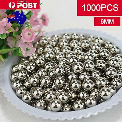 AU20.49 • Buy 1000PCS Steel Loose Bearing Ball 6mm Replacement Parts Bike Bicycle Cycling