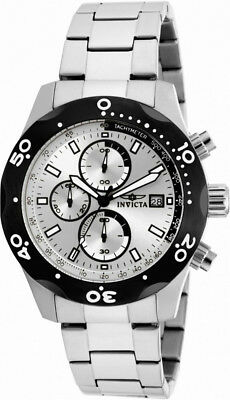 £53.92 • Buy Invicta Specialty 17749 Men's Round Silver Tone Analog Chronograph Date Watch