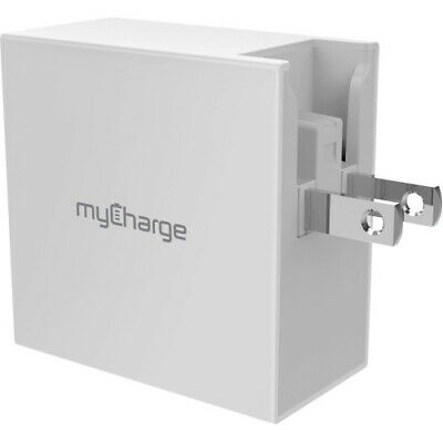 NEW MyCharge PBQC04W Power-Base QC Power Adapter POWERBASE 4 W Quick Charge • 49.98£