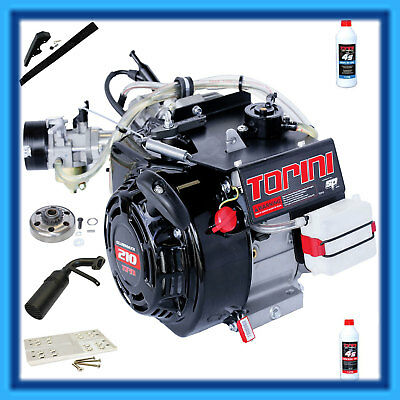 AU1795 • Buy GO KART TORINI CLUBMAXX 9.9Hp 4 STROKE RACE ENGINE COMPLETE PACKAGE With OILS