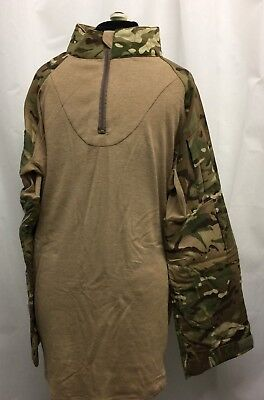 MTP CAMO HOT WEATHER DESERT UNDER BODY ARMOUR SHIRT UBAC FR British Army Xlarge • 25£