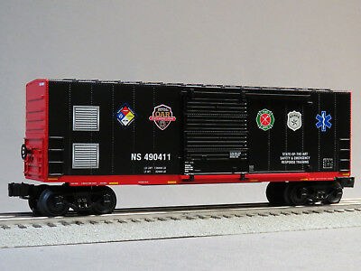 $48.84 • Buy LIONEL NORFOLK SOUTHERN FIRST RESPONDERS BOXCAR O GAUGE Train Freight 6-84490-B