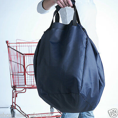4 X Supermarket Inside Trolley Cart Reusable Shopping Bags - SALE FREE POSTAGE • 4.99£