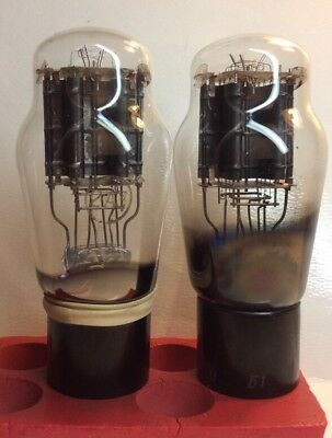 $ CDN500.92 • Buy Pair (2) 2A3 Tube French RT Vintage TRIODE 1951 Hanging Filament