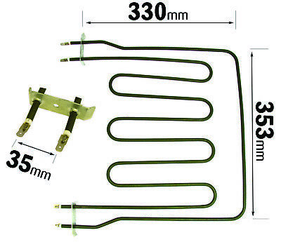 3050W Top Upper Dual Cooker Oven Grill Heater Element For Belling Hotpoint Creda • 6.99£