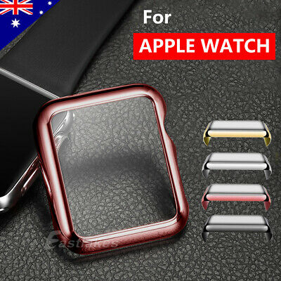 AU6.95 • Buy For Apple Watch Screen Protector Case 38/42/40/44mm Front Cover 1 2 3 4 5