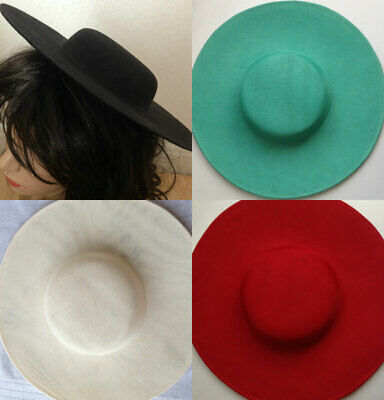£13.19 • Buy Hat Polyester Dipped  Base 30 Cm Great For Making Fascinators Party Hats
