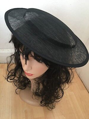 £17.19 • Buy Sinamay Hat Base 31 Cm Great For Making Fascinators Party Hats