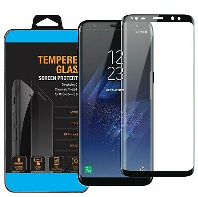 $ CDN3.48 • Buy Samsung Galaxy Note 9/8 S8 S9 Plus Tempered Glass Full Coverage Screen Protector