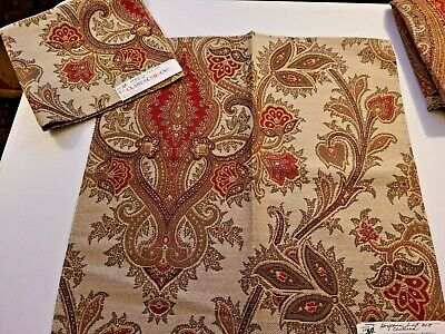 $15.99 • Buy (2) ETRO ~ Clarence House Fabric Remnants - ALNUS - ITALY - 17 1/2 X 17   $1015