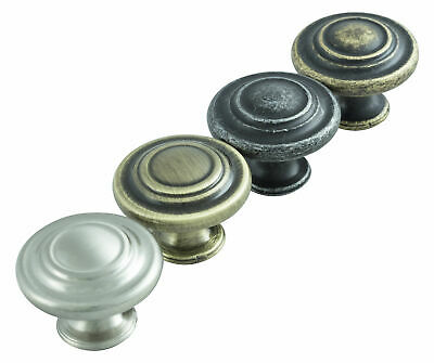 Hausen Traditional Vintage Door Handle Kitchen Cupboard Wardrobe Drawer Knobs • 1.99£