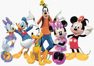£49.95 • Buy Mickey Mouse Clubhouse Counted Cross Stitch Kit Disney/Film/TV Characters