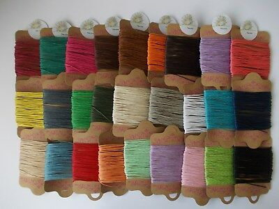 £2.99 • Buy 10 METRES JEWELLERY STRING FOR MAKING NECKLACE,BRACELET,1.0mm Cotton Waxed Cord