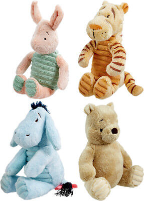 Classic Winnie The Pooh Piglet Tigger Eeyore Baby Soft Toy • 11.95£