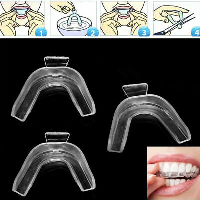 AU2.55 • Buy 2×Thermoform Moldable Mouth Teeth Dental Trays Tooth Whitening Guard Whitener