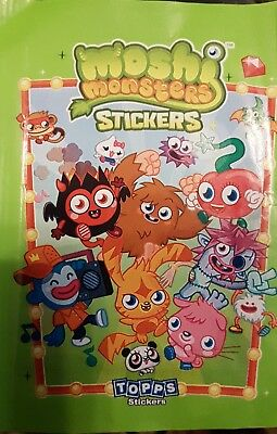 £5.99 • Buy Moshi Monsters (green) X5o Loose Stickers