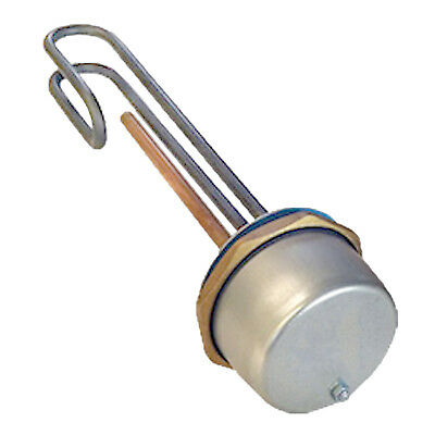 11  Universal Immersion Heater Hot Water Boiler Thermostat ELEMENT 3000W Incoloy • 26.29£