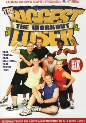 The Biggest Loser The Workout Exercise Dvd New Sealed Bob Harper Fitness • 9.92£