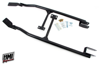 $299.99 • Buy UMI 93-02 F-Body 3-Point Subframe Connector CONVERTIBLE Weld In Budget BLCK 2071