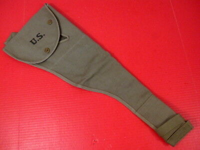 $36.99 • Buy WWII US Army M1 Carbine Paratrooper Canvas Jump Case - OD Green 1944  - Repro