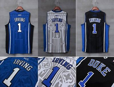 NCAA Duke Blue Devils  1 Kyrie Irving Men Stitched Basketball Sewn S-XXL  Jersey c6a80f1a9