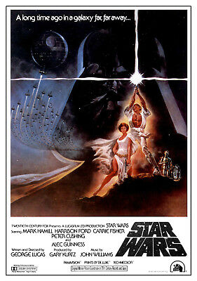 $ CDN10.59 • Buy STAR WARS MOVIE POSTERS - Classic Movie Artwork (Size 24x36 Inches)