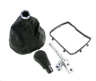 AU241.47 • Buy 93-96 Camaro 5/6 Speed Black Suede Shifter Boot & Knob Conversion Kit, Dark Gray