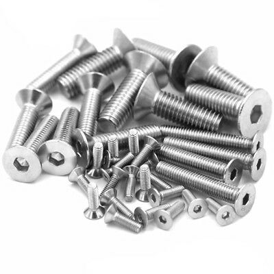 £2.95 • Buy LARGE M10 - M20 COUNTERSUNK BOLTS Stainless Steel A2 Hex Head Allen Key Screws