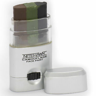 Nitehawk Camouflage GI/Army/Military Wind Out 3 Colour Face Paint Stick • 3.99£