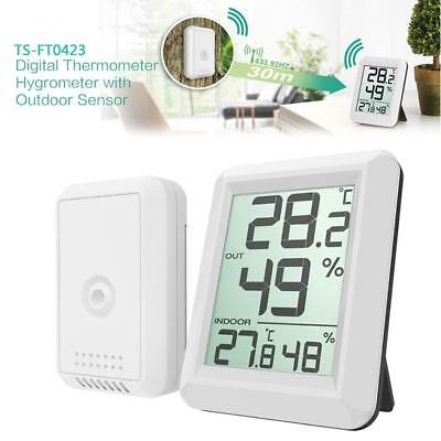 $12.91 • Buy Digital Wireless Indoor Outdoor Thermo-Hygrometer Thermometer Humidity Meter