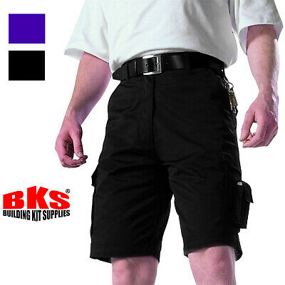 £13.99 • Buy Mens Combat Cargo Work Shorts Size 30 To 54 With Elasticated Waist – By BKS