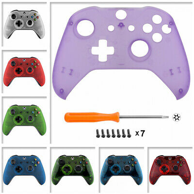 $14.99 • Buy Clear Series Custom Housing Faceplate Shell Cover For Xbox One S X Controller