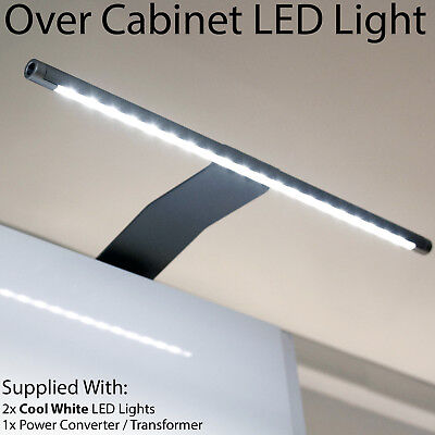 £36.99 • Buy 2x Over Cabinet LED Light & Driver Kit -COOL WHITE-Kitchen Cupboard Reading Lamp