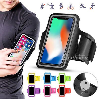 AU4.95 • Buy Sports Gym Running Armband For Apple IPhone 12 Mini 11 Pro XS Max Samsung S21
