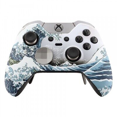 Patterned Soft Touch Upper Housing Shell Faceplate For Xbox One Elite Controller • 15.78$