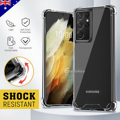 AU5.94 • Buy For Samsung S21 S20 FE Ultra S10 S9 Plus Note 20 5G Case Shockproof Bumper Cover