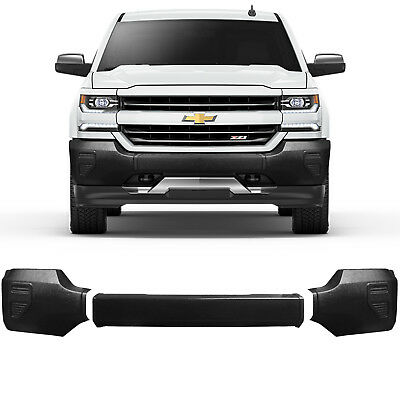 NEW FRONT BUMPER COVER TEXTURED FITS 2003-2006 GMC SIERRA 1500 15199810 CAPA