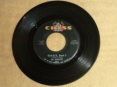 $39.99 • Buy 45 RPM RECORD By THE MAJESTICS / CHESS 1802 / R & B