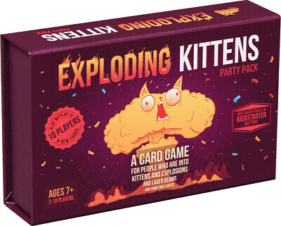AU45.88 • Buy Exploding Kittens Party Pack