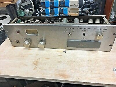 $ CDN255.64 • Buy AMPEX Professional Magnetic Audio Tube  Record Amplifier. For Parts Or Rebuild