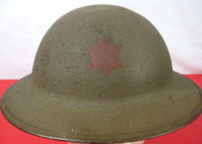 $324.99 • Buy WWI US Army AEF M1917 Helmet W/Liner Hand Painted - 6th Infantry Division Emblem