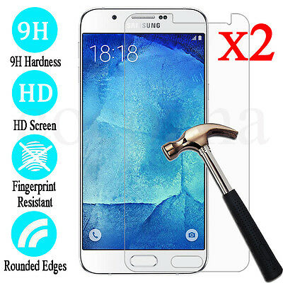 AU2.99 • Buy 2x Samsung Galaxy J3 J5 J7 Pro 2017 Tempered Glass / Plastic Screen Protector