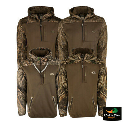 51f587ae346ad Drake Waterfowl Mst Endurance Soft Shell Camo Hoodie Pullover • 89.99$