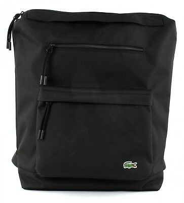 LACOSTE Backpack Neocroc Tote Black • 105.10£
