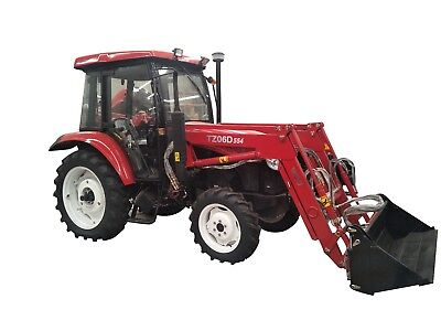 AU29500 • Buy Yto Mf554 – 4wd – 55hp – Front End Loader – 4 In 1 Bucket – Aircab Or Rops Avail