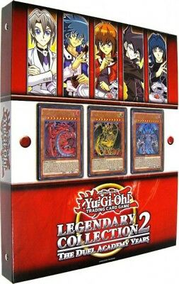 AU344.05 • Buy Yu-Gi-Oh GX Legendary Collection 2: The Duel Academy Years Binder [Sealed]